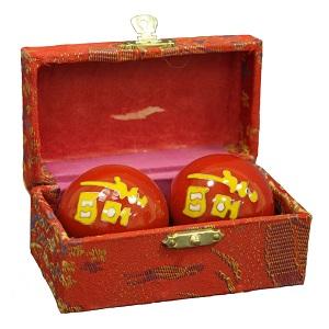 Тибетские массажные омолаживающие музыкальные шары Бао Дин №3