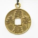 Китайская монета Счастья Фэн-шуй