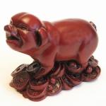 Свинья на монетах