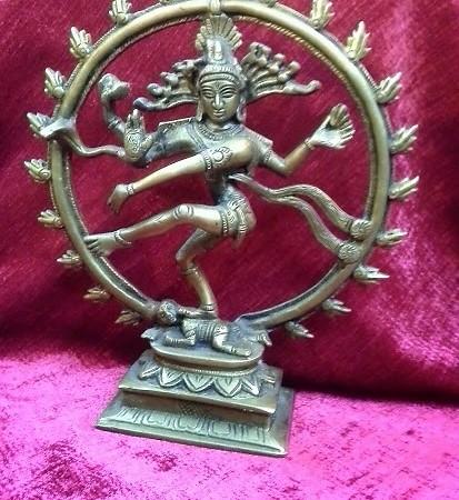 Статуэтка Танцующий Шива-Натараджа.